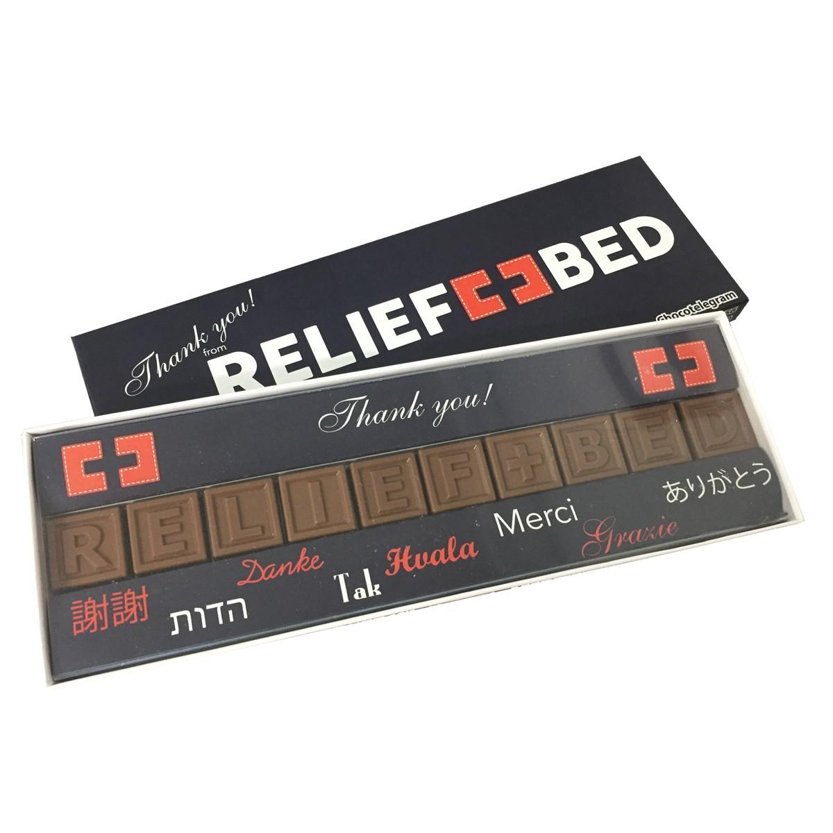 CHOCOTELEGRAM™ 10 with custom belly wrap/Insert