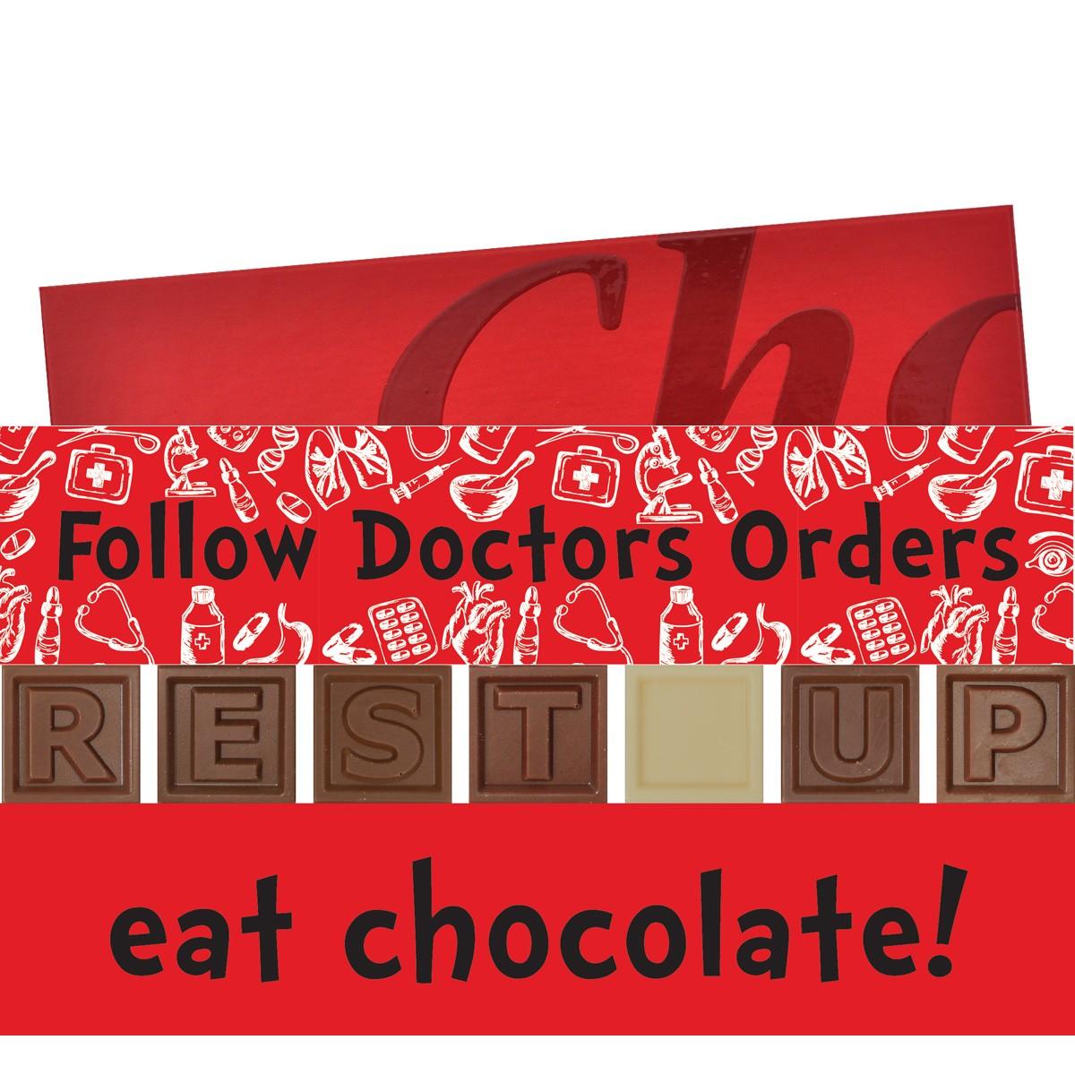 FOLLOW DOCTORS ORDERS