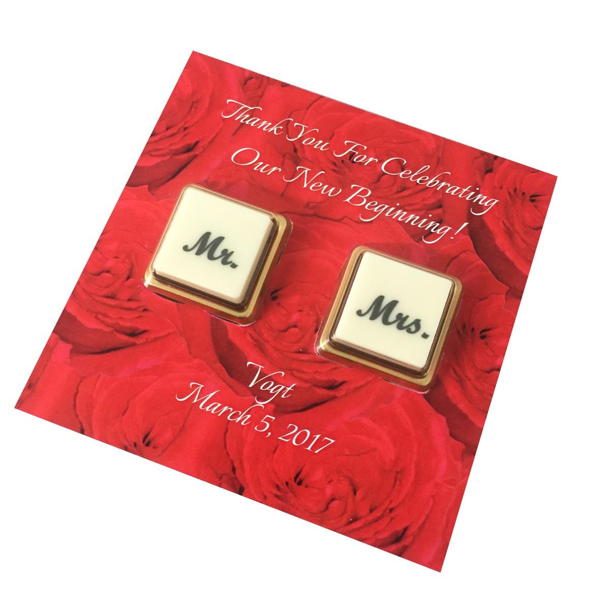 CHOCO WEDDING CARD 2