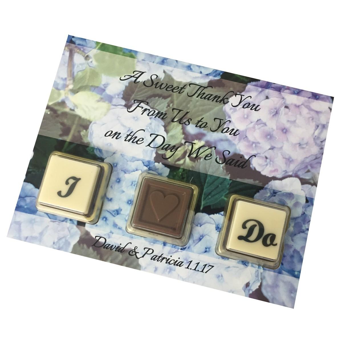 CHOCO WEDDING CARD 3